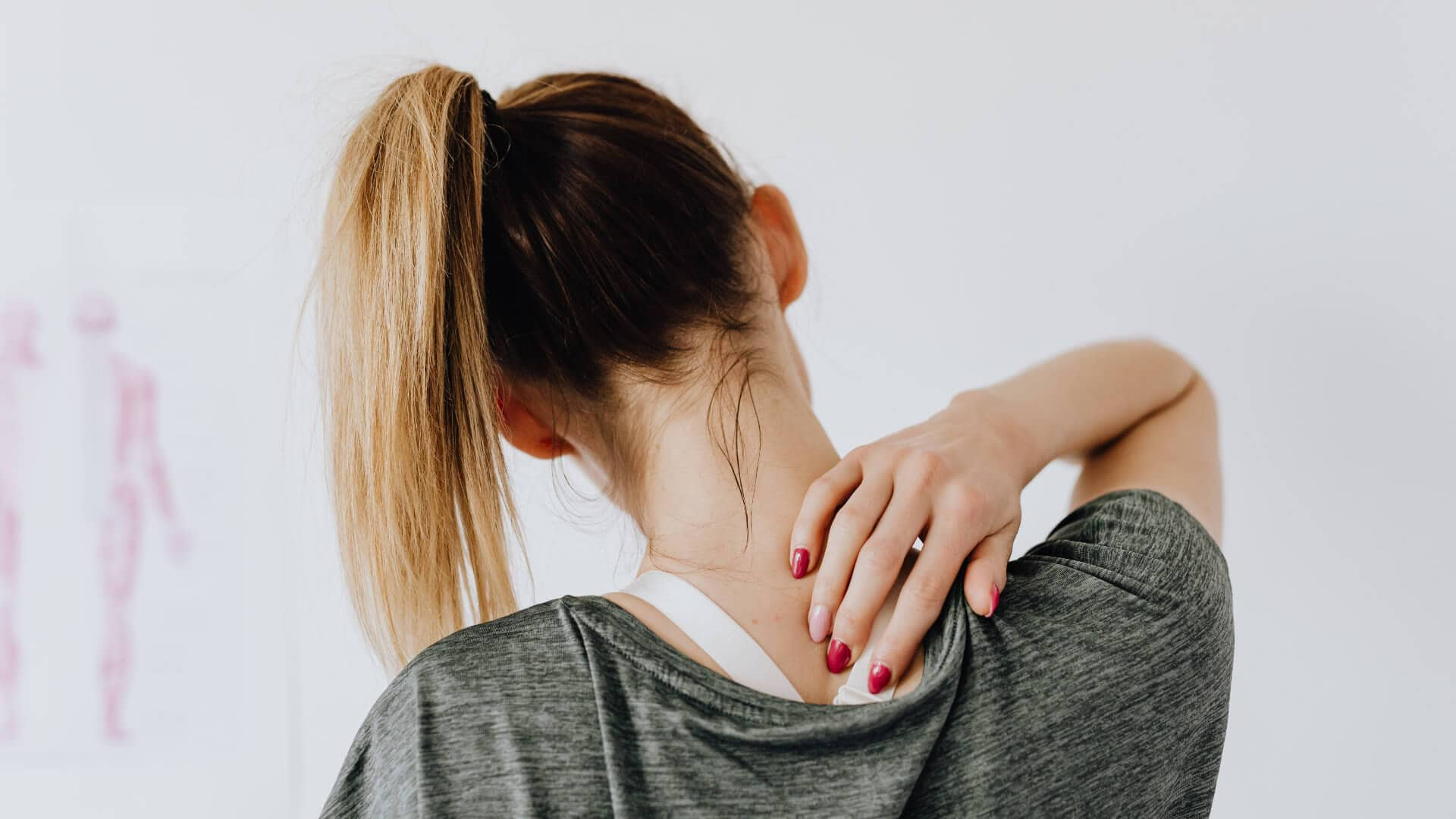 Chiropractor treating for neck pain